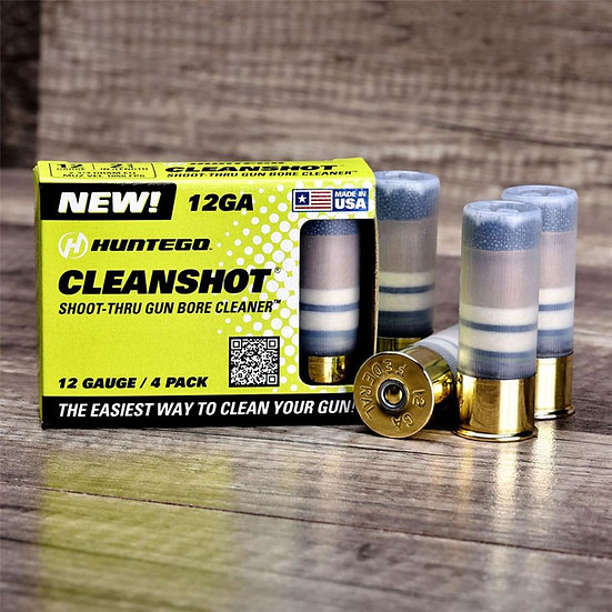 CLEANSHOT® 12 GAUGE GUN BORE CLEANER