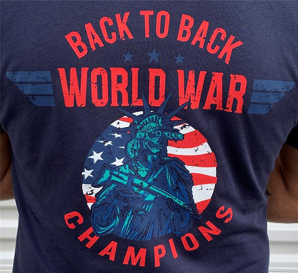 Back to Back World War Champions Tee