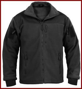 Spec Ops Tactical Fleece Jacket (BLACK)