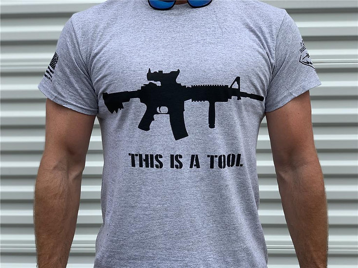 CLUBTAC SWAG : THIS IS A TOOL - I AM THE WEAPON TEE