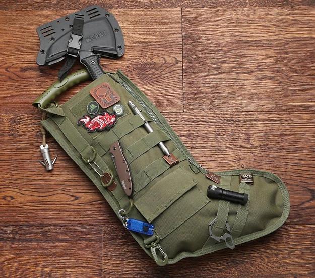 Premium Tactical Christmas Stocking