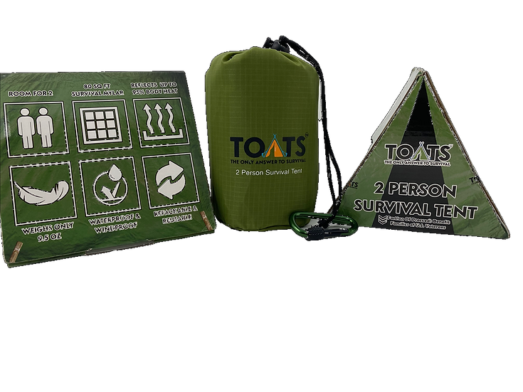 TOATS  2 PERSON SURVIVAL TENT