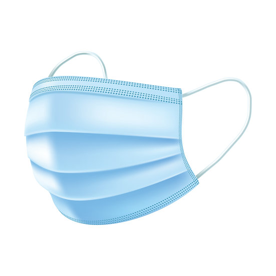 1 Single - Surgical Medical 3-Ply Protection Mask