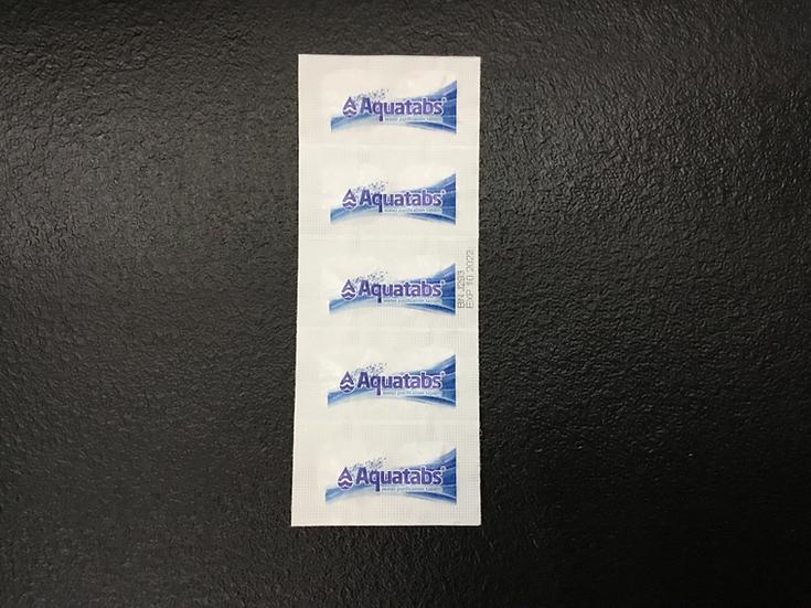 Aqua Tabs (10 piece strip)