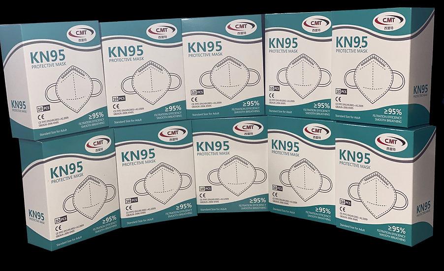 100 Pack - KN95 Face Masks