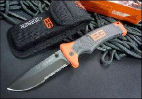 Bear Grylls Gerber Folding Sheath Knife