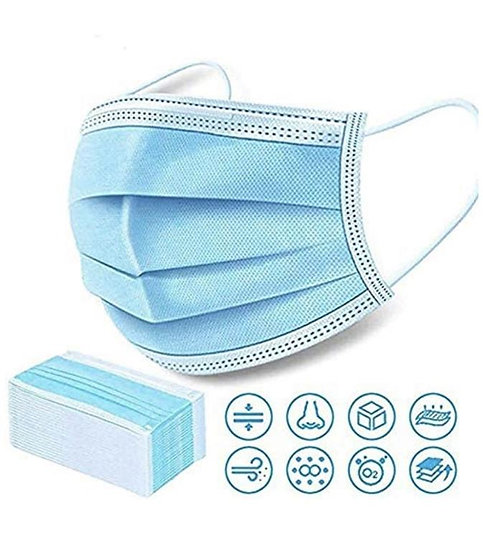 50 Pack - Surgical Medical 3-Ply Protection Mask
