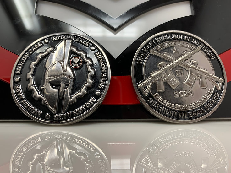 Challenge Coin #4 of 25