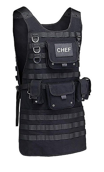 Tactical MOLLE System Chef Combat Apron