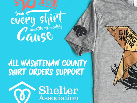 """""""Give a Shirt!"""" - Raise Awareness & Funds to Fight Homelessness"""