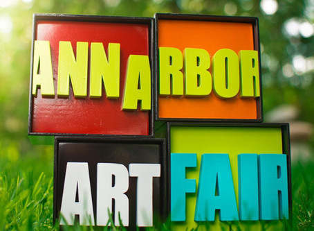 Ann Arbor Art Fair - Over $4,000 raised!