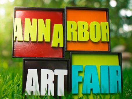Ann Arbor Art Fair - Over $4,000 raised!