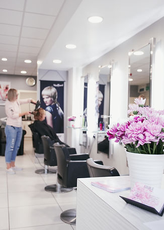 inside Colour Leys salon