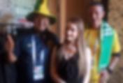 Болельщики из Бразилии