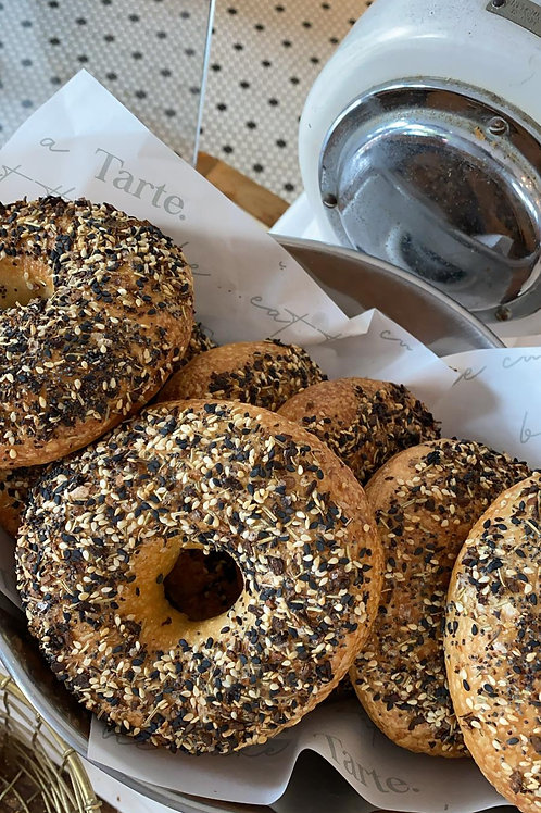 'Everything' New York Bagel // Pack of 4