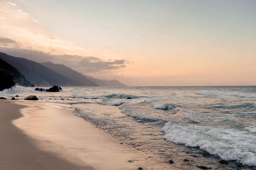 Playa Escondida Print