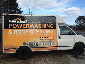 powerwashing and roof cleaning delmarva