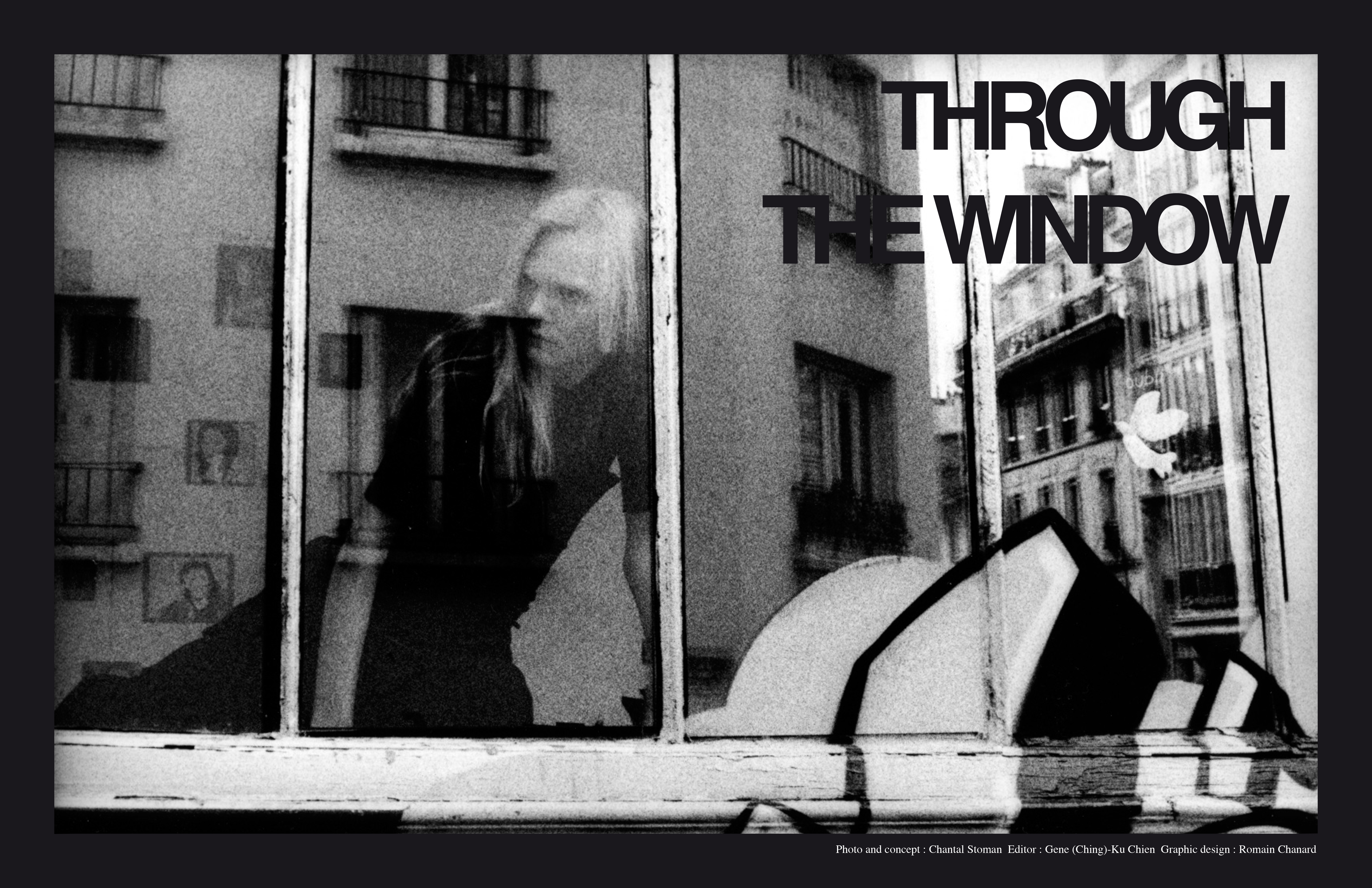 TROUGH THE WINDOW by Stoman