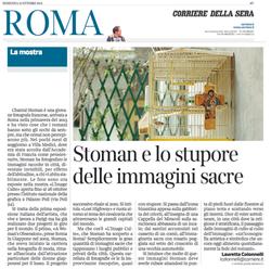 Article / Stoman e lo stupore ...