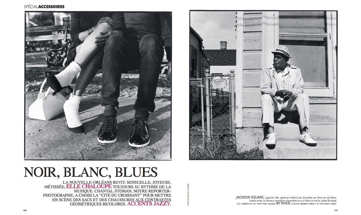 NOIR, BLANC, BLUES by Stoman