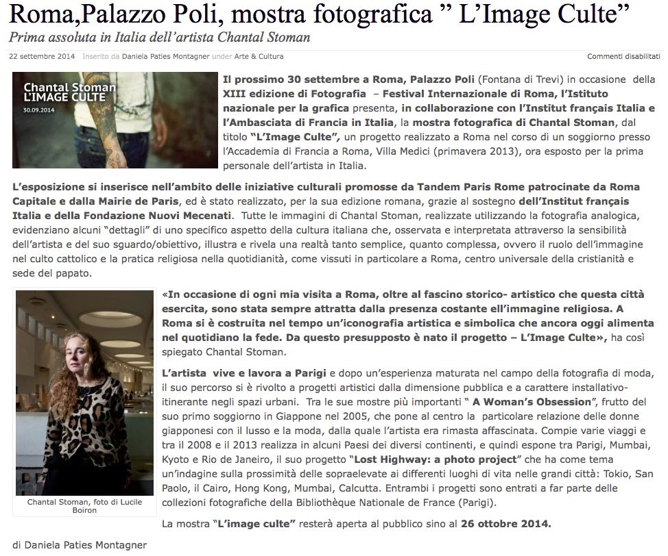 Article / Roma, Palazzo Poli, ...
