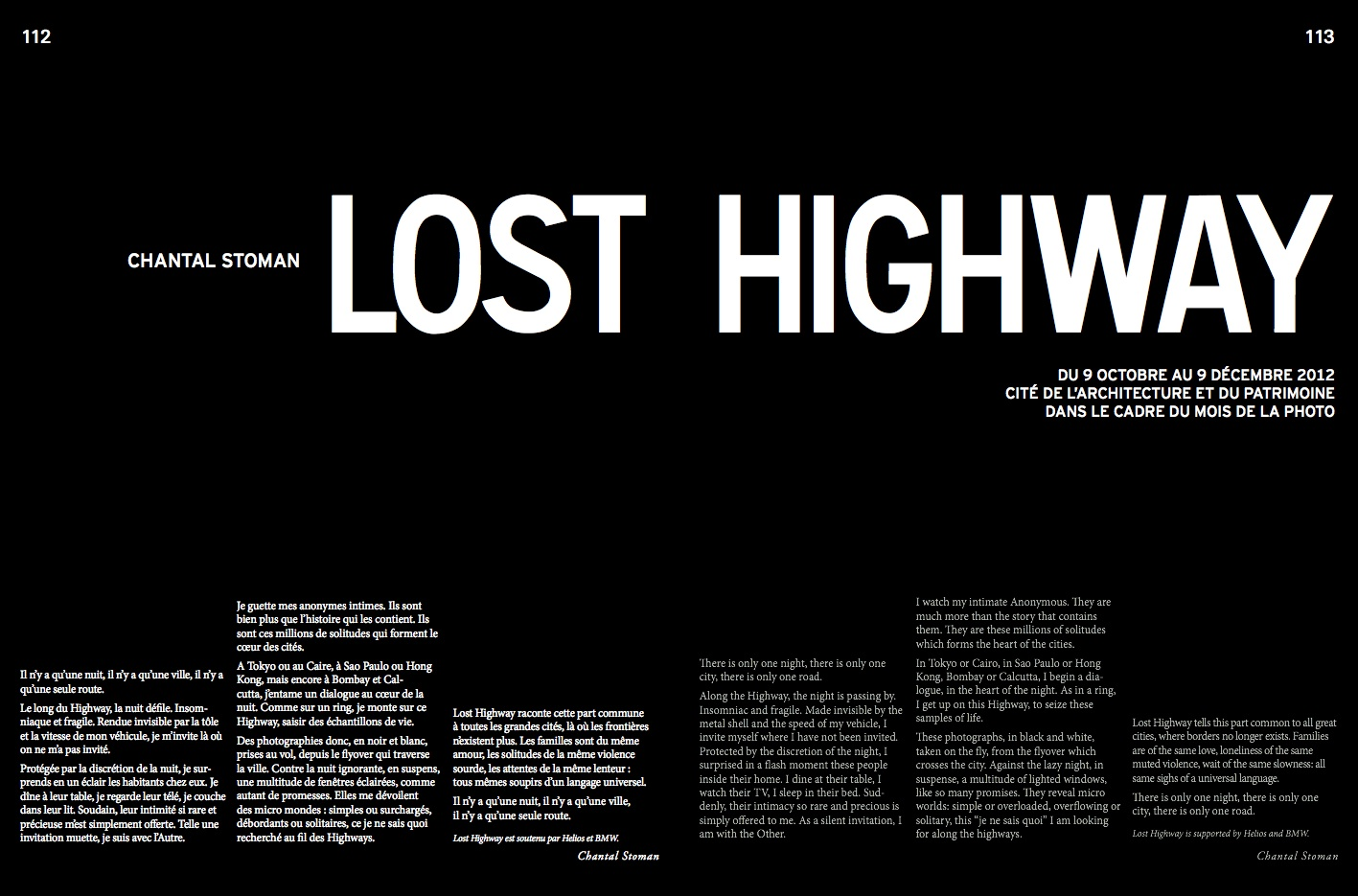 Article / Lost Highway