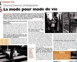 Article / La mode pour mode de vie