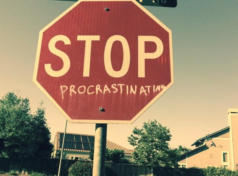 Stop procratination
