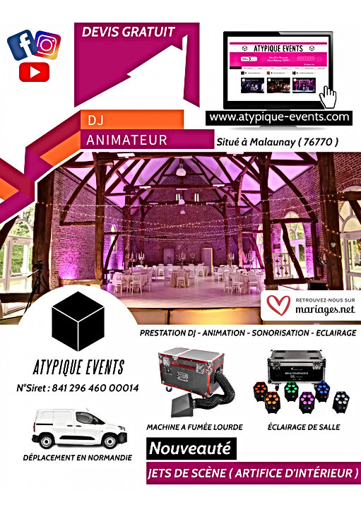 Copie de Wedding DJ Services Flyer Templ