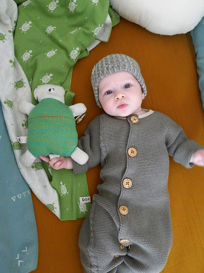 Organic Baby Jumpsuits Made in Spain by Bayiri