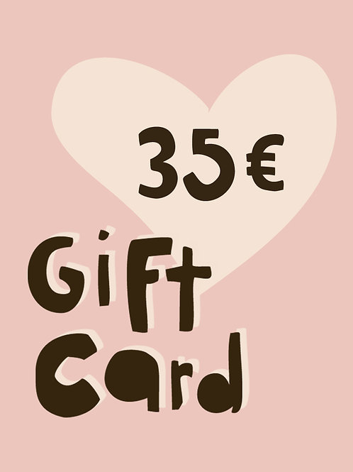 35€ GIFT CARD