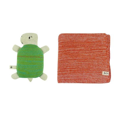 Coy & Sloth Blanket Set