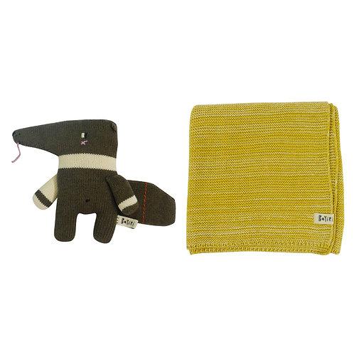 Yuru & Sloth Blanket Set