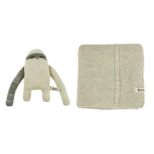 Aí & Sloth Blanket Set