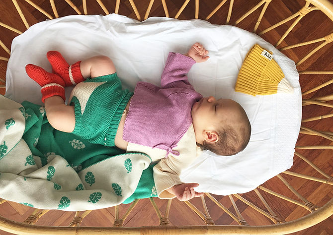 Plant Based Baby Clothes Made in Spain by Bayiri