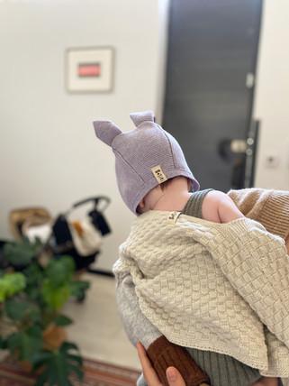 baby animal bonnet