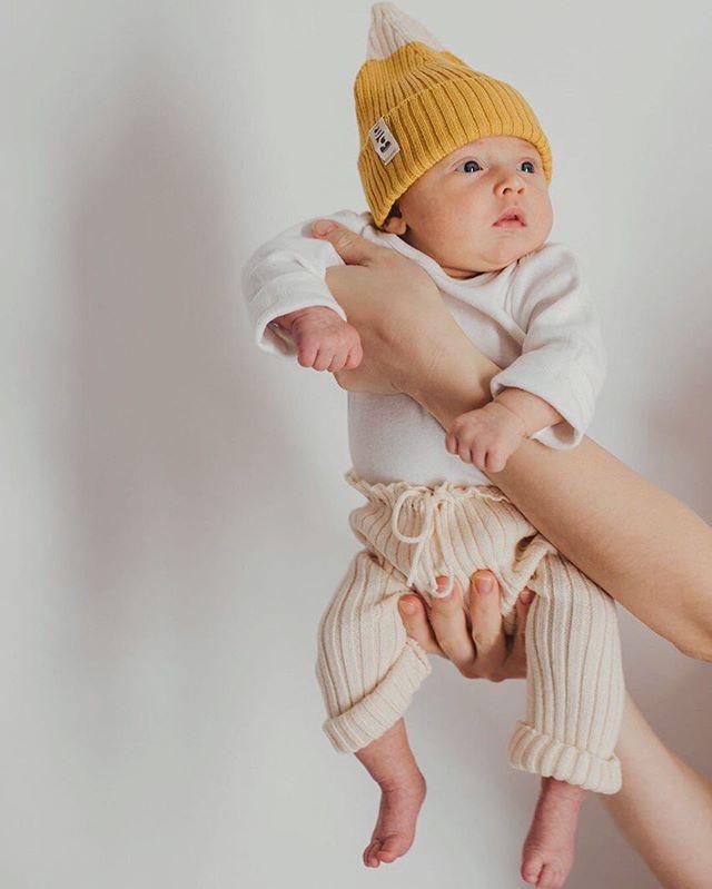 organic baby beanie