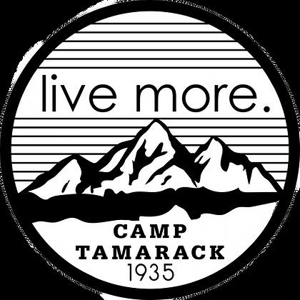 Vintage Live More Sticker