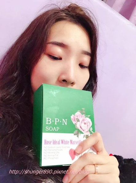 B.P.n 專利機能皂 臉部專屬 法國娃娃保濕淡斑皂