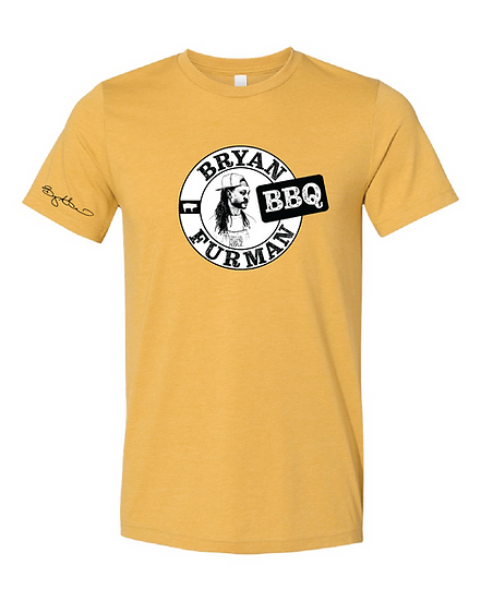 Bryan Furman BBQ Mustard Shirt