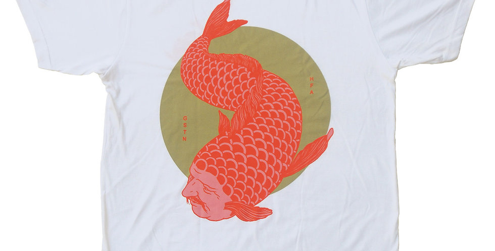 FORTUNE FISH RED TEE