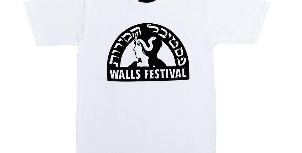 WALLS FESTIVAL LOGO TEE