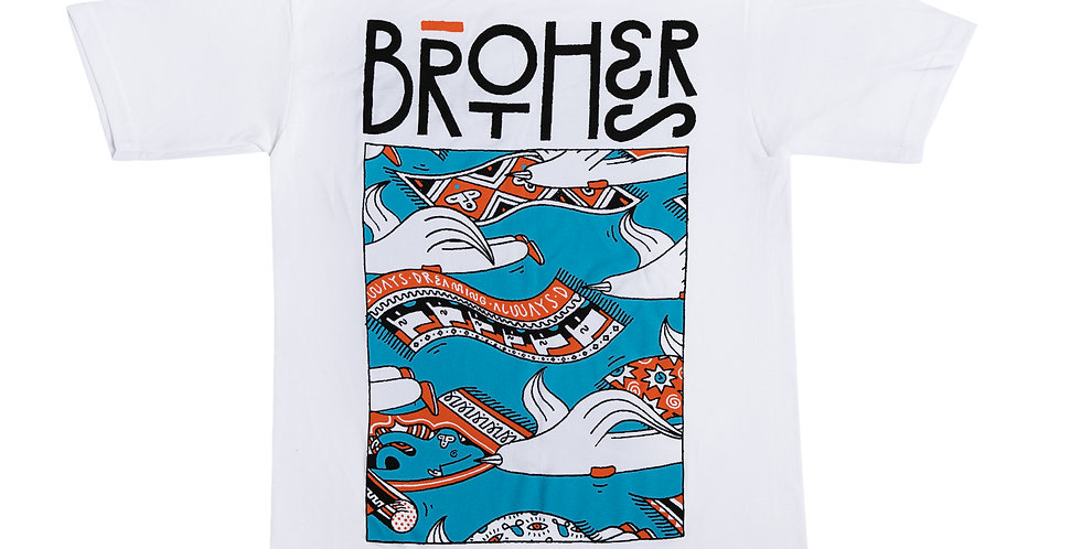 BROTHERS OF LIGHT X GHOSTOWN TEE