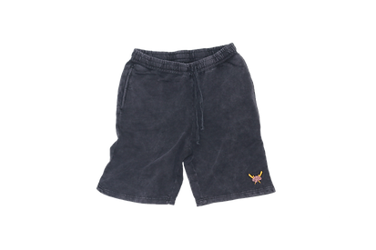 Stone Washed black shorts.png