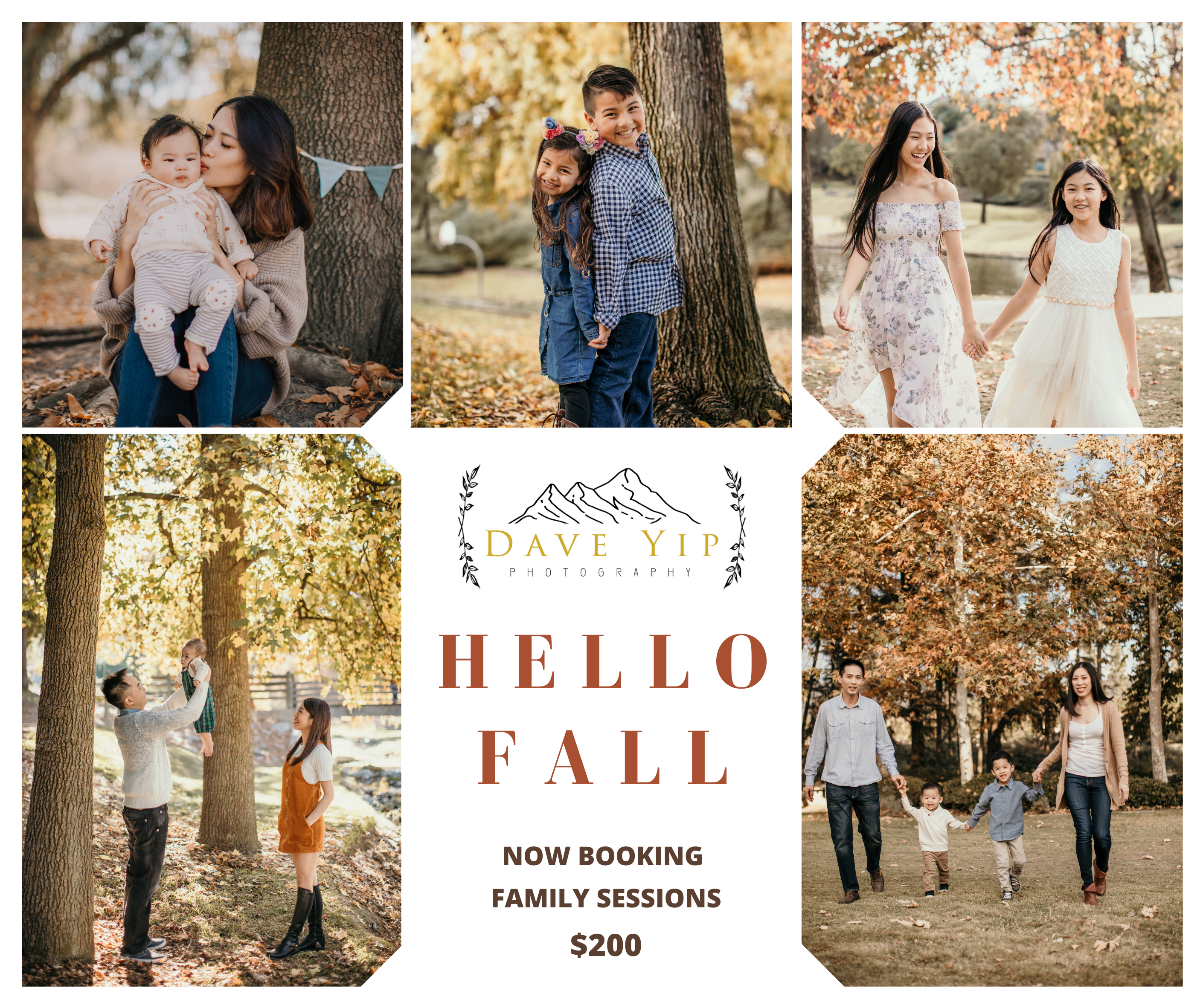 Holiday Session $200