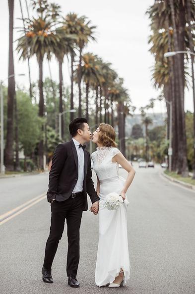 Los Angeles pre wedding