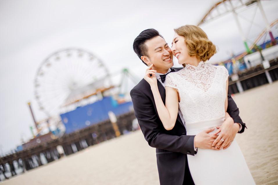 Santa Monica Engagement Session