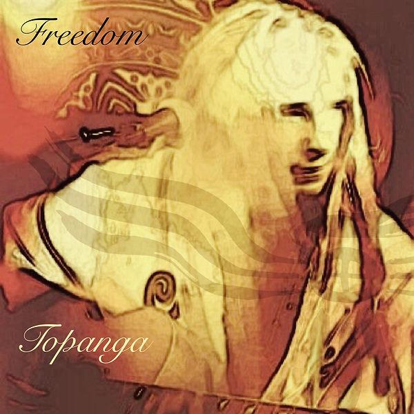 Freedom Tribe 'Live in Topanga' album cover art work