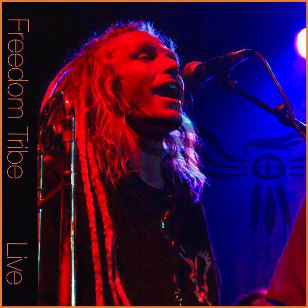 Freedom Tribe 'Live' album cover art work