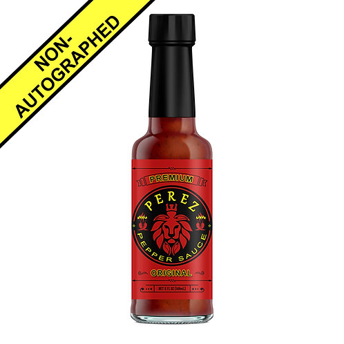 Perez Pepper Sauce 'Original' Flavor (Without Autograph)